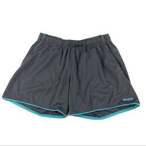 Reebok Women's Gray Work Out Shorts M